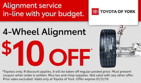 4-Wheel Alignment Special York PA