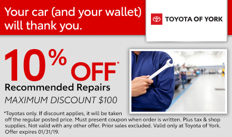 Recommended Repairs Special York PA
